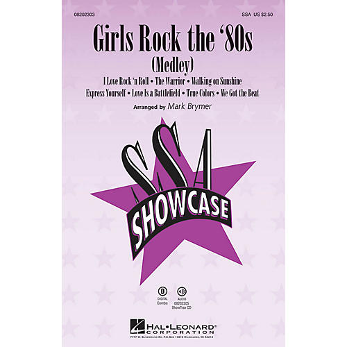 Hal Leonard Girls Rock the '80s (Medley) SSA arranged by Mark Brymer thumbnail