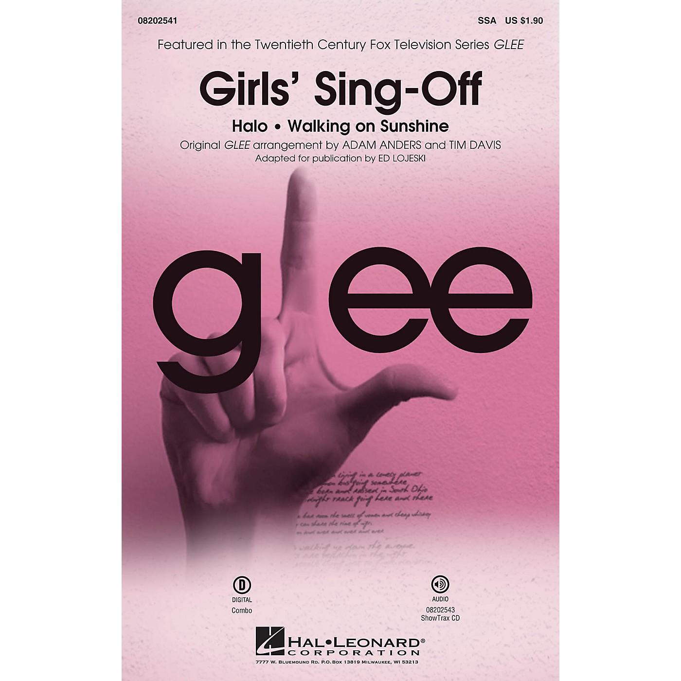 Hal Leonard Girls' Sing-Off (from Glee) SSA by Glee Cast arranged by Ed Lojeski thumbnail
