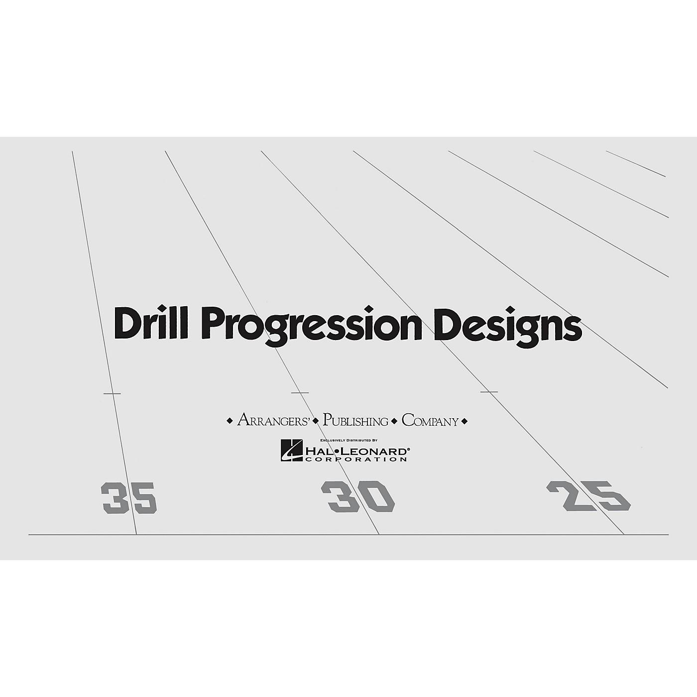 Arrangers Gitana (Production) (Drill Design 28) Marching Band thumbnail