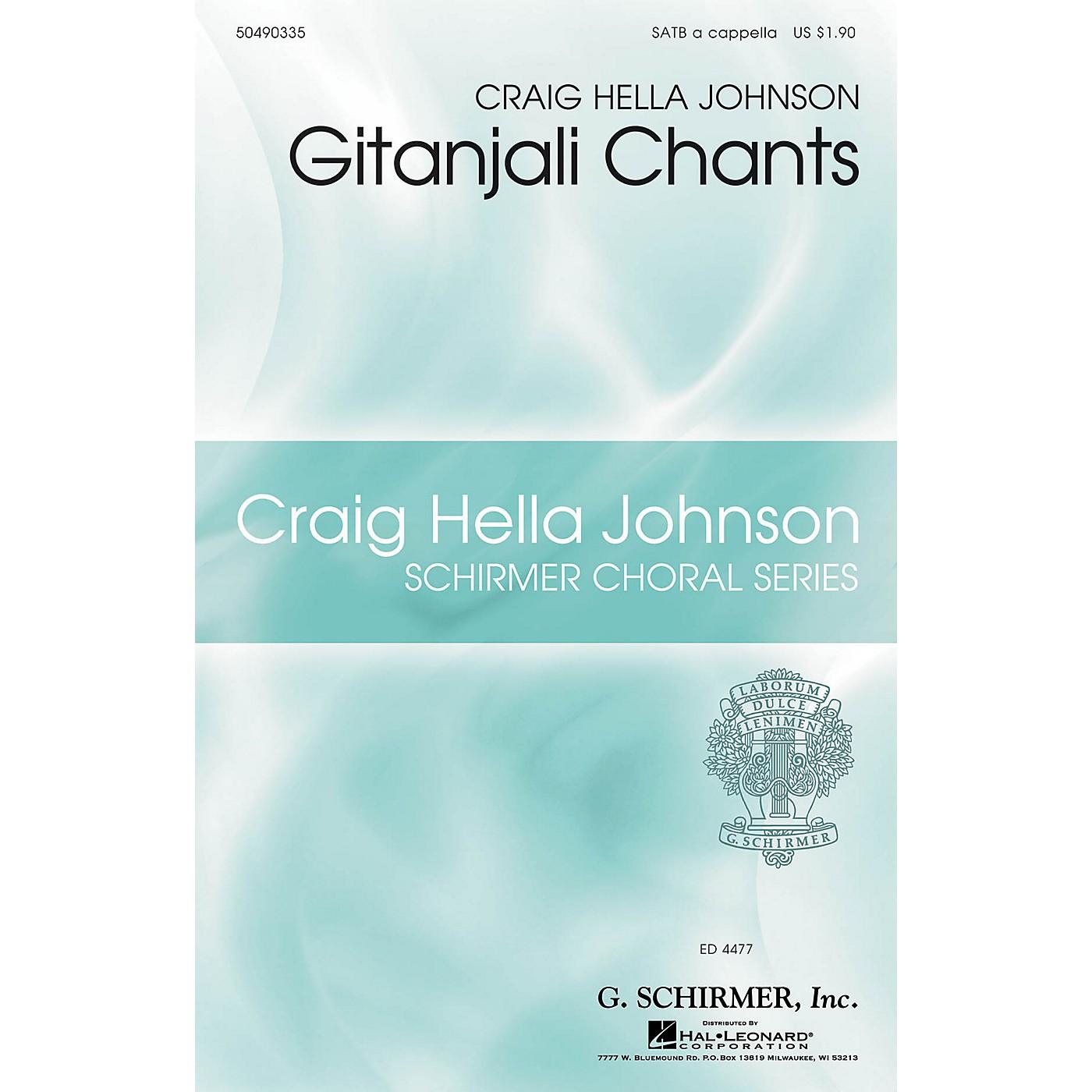 G. Schirmer Gitanjali Chants (Craig Hella Johnson Choral Series) SATB a cappella composed by Craig Hella Johnson thumbnail