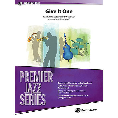Alfred Give It One Jazz Band Grade 4.5 Set thumbnail