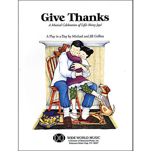 Shawnee Press Give Thanks (Book/CD) thumbnail