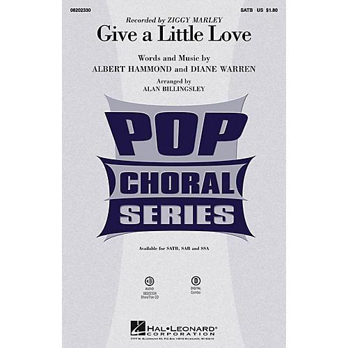 Hal Leonard Give a Little Love SSA by Ziggy Marley Arranged by Alan Billingsley thumbnail