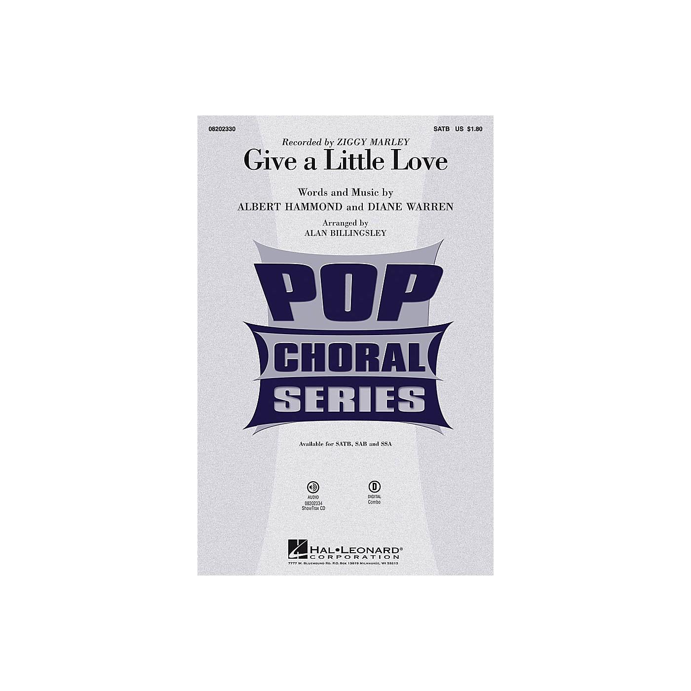 Hal Leonard Give a Little Love ShowTrax CD by Ziggy Marley Arranged by Alan Billingsley thumbnail