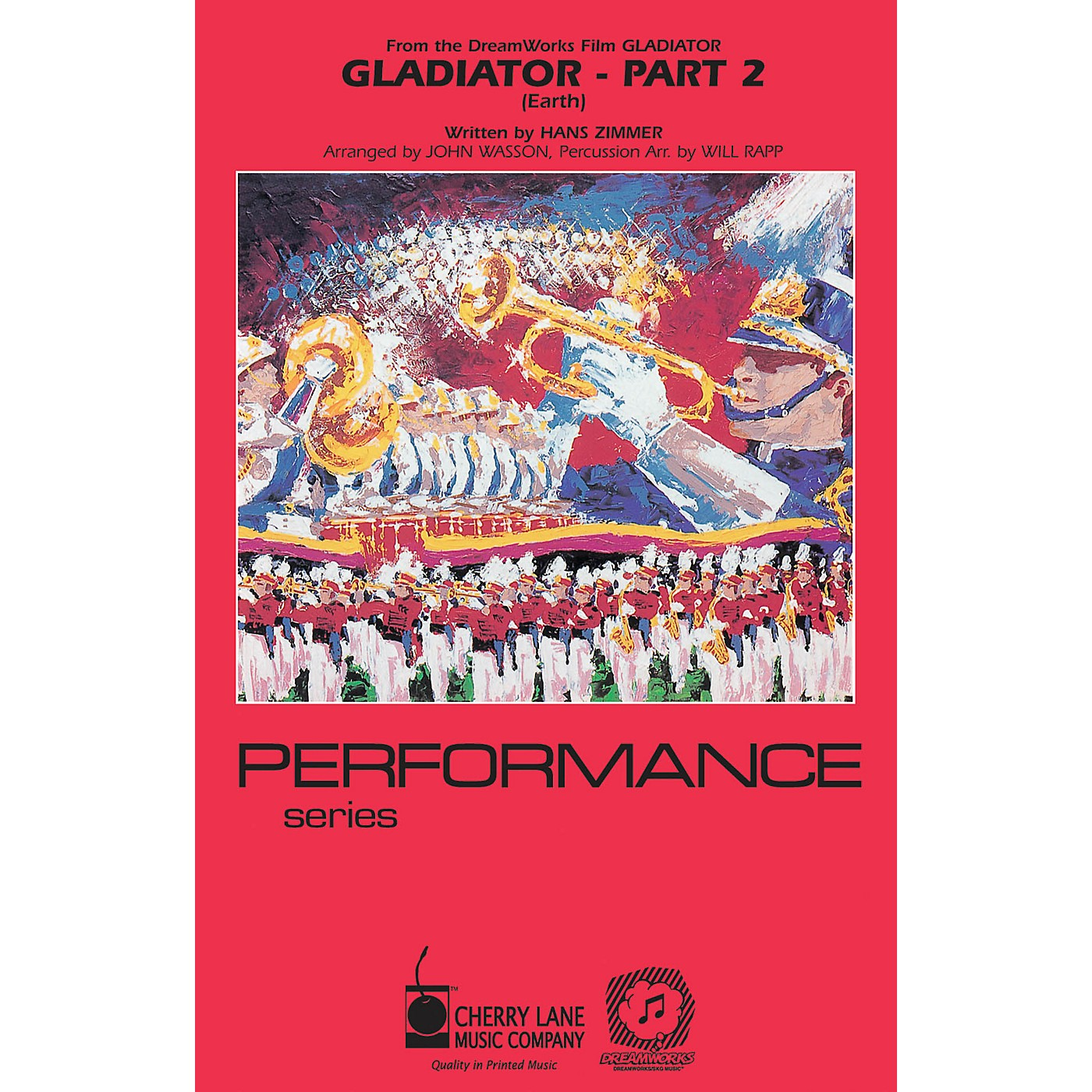 Cherry Lane Gladiator - Part 2 Marching Band Level 3-4 Arranged by Will Rapp thumbnail