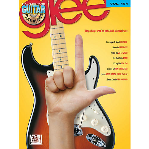 Hal Leonard Glee - Guitar Play-Along Volume 154 Book/CD thumbnail