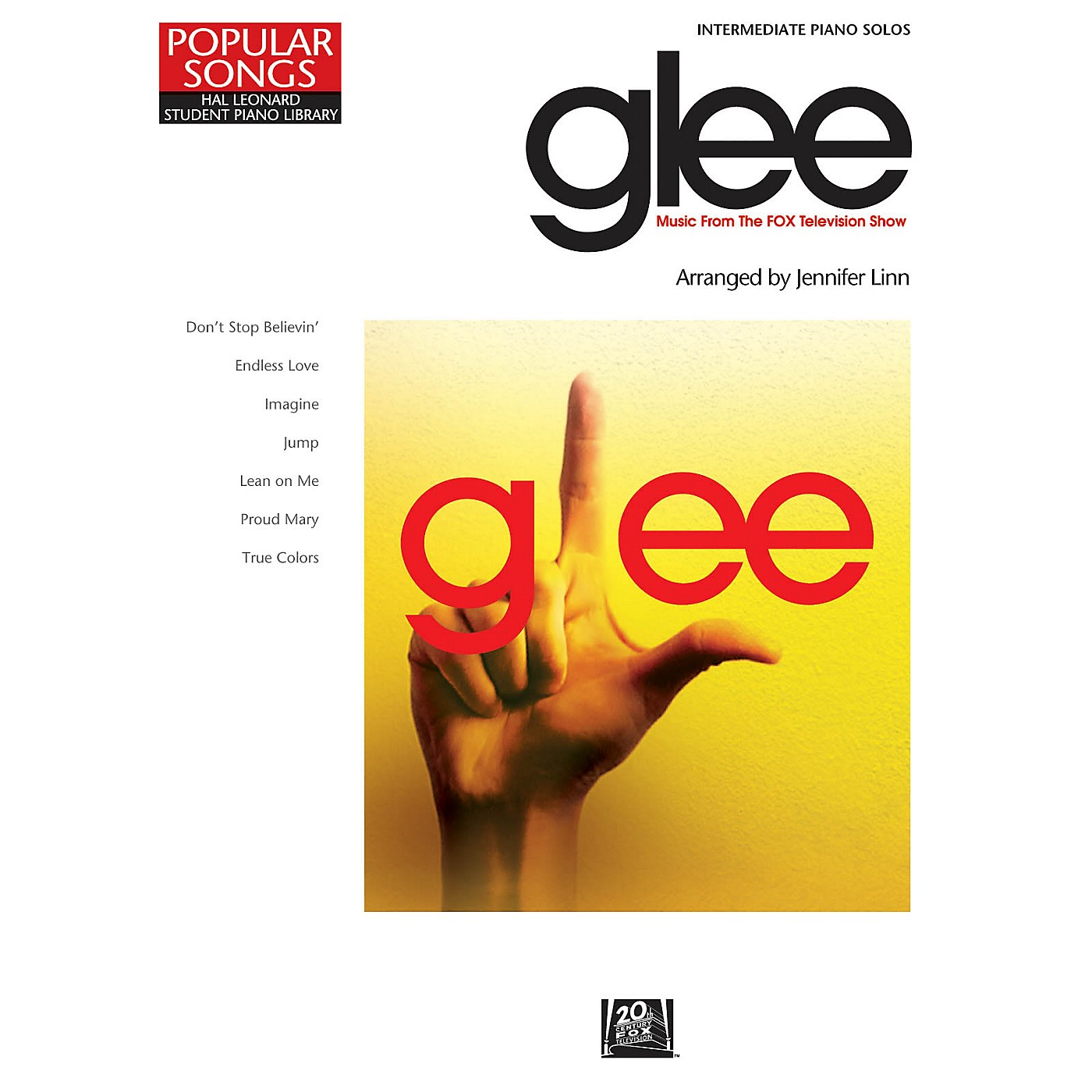 Hal Leonard Glee - Music from the FOX Television Show Piano Library Series Book (Level Inter) thumbnail