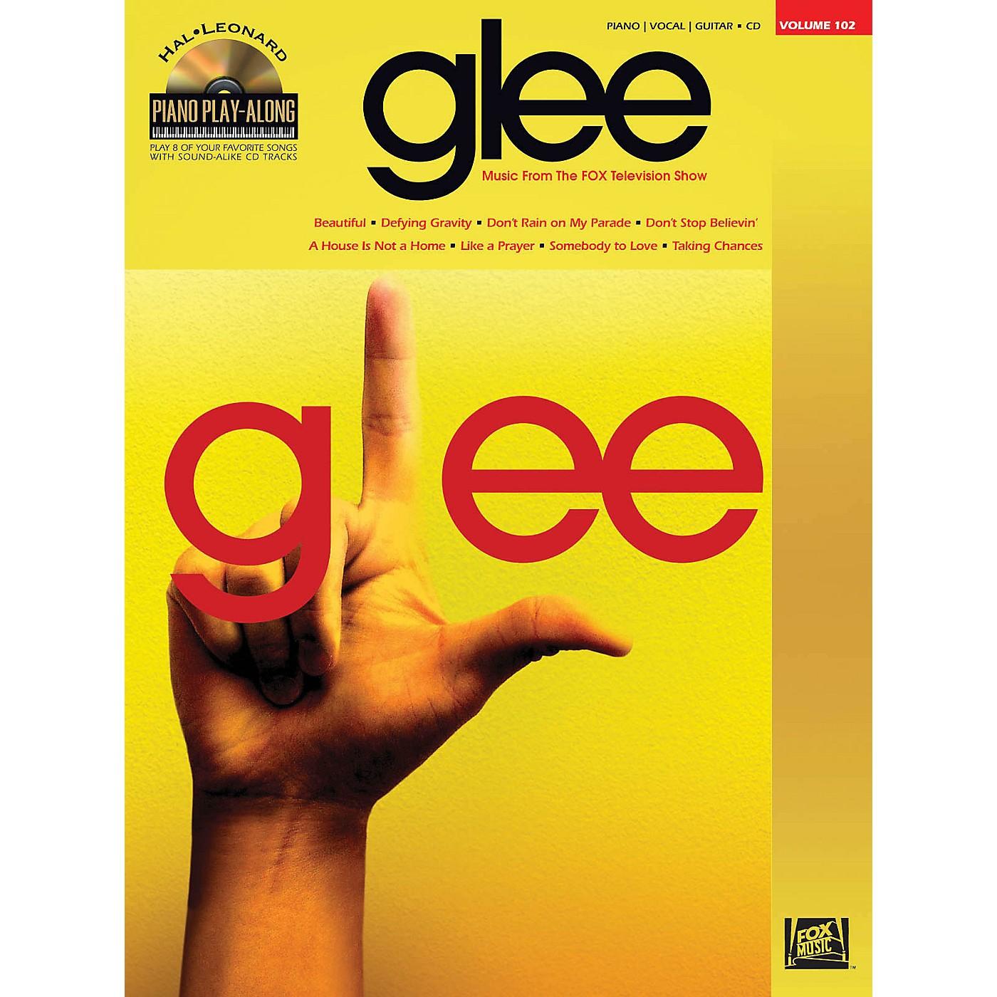 Hal Leonard Glee - Piano Play-Along Volume 102 Book/CD thumbnail