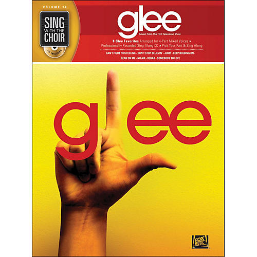 Hal Leonard Glee - Sing with The Choir Vol. 14 Book/CD-thumbnail