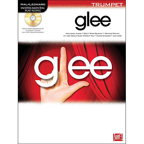 Hal Leonard Glee For Trumpet - Instrumental Play-Along Book/CD thumbnail