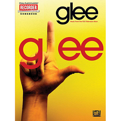 Hal Leonard Glee (Music from the Fox Television Show) Recorder Series Softcover Performed by Various thumbnail