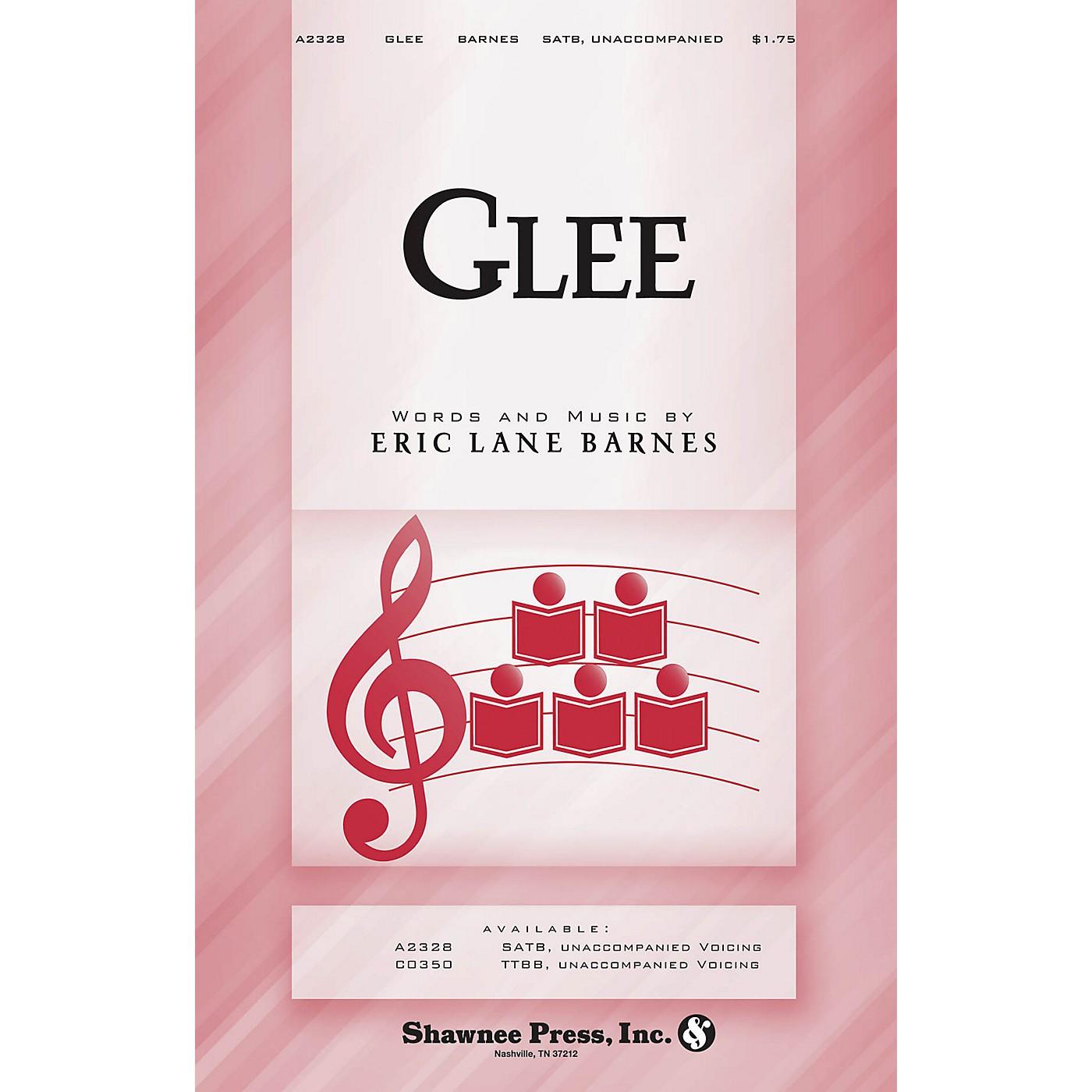 Shawnee Press Glee SATB a cappella composed by Eric Lane Barnes thumbnail