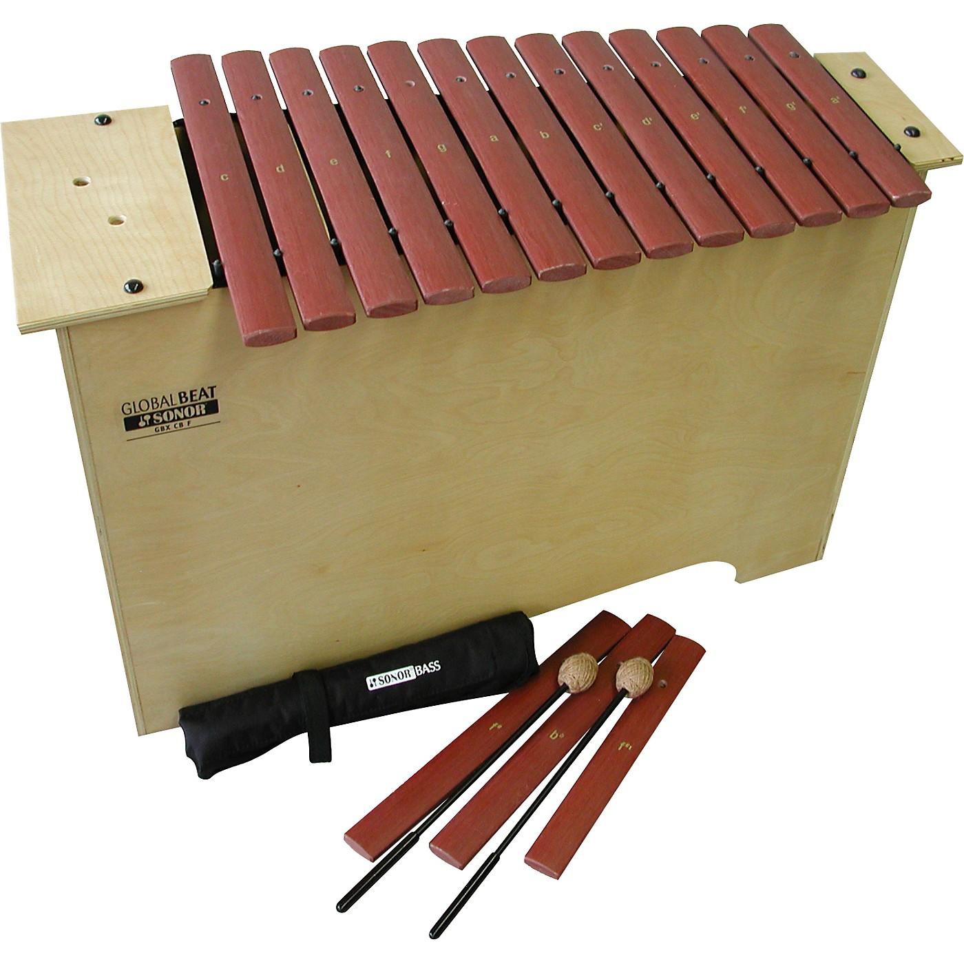 Sonor Orff Global Beat Deep Bass Xylophone with Fiberglass Bars thumbnail
