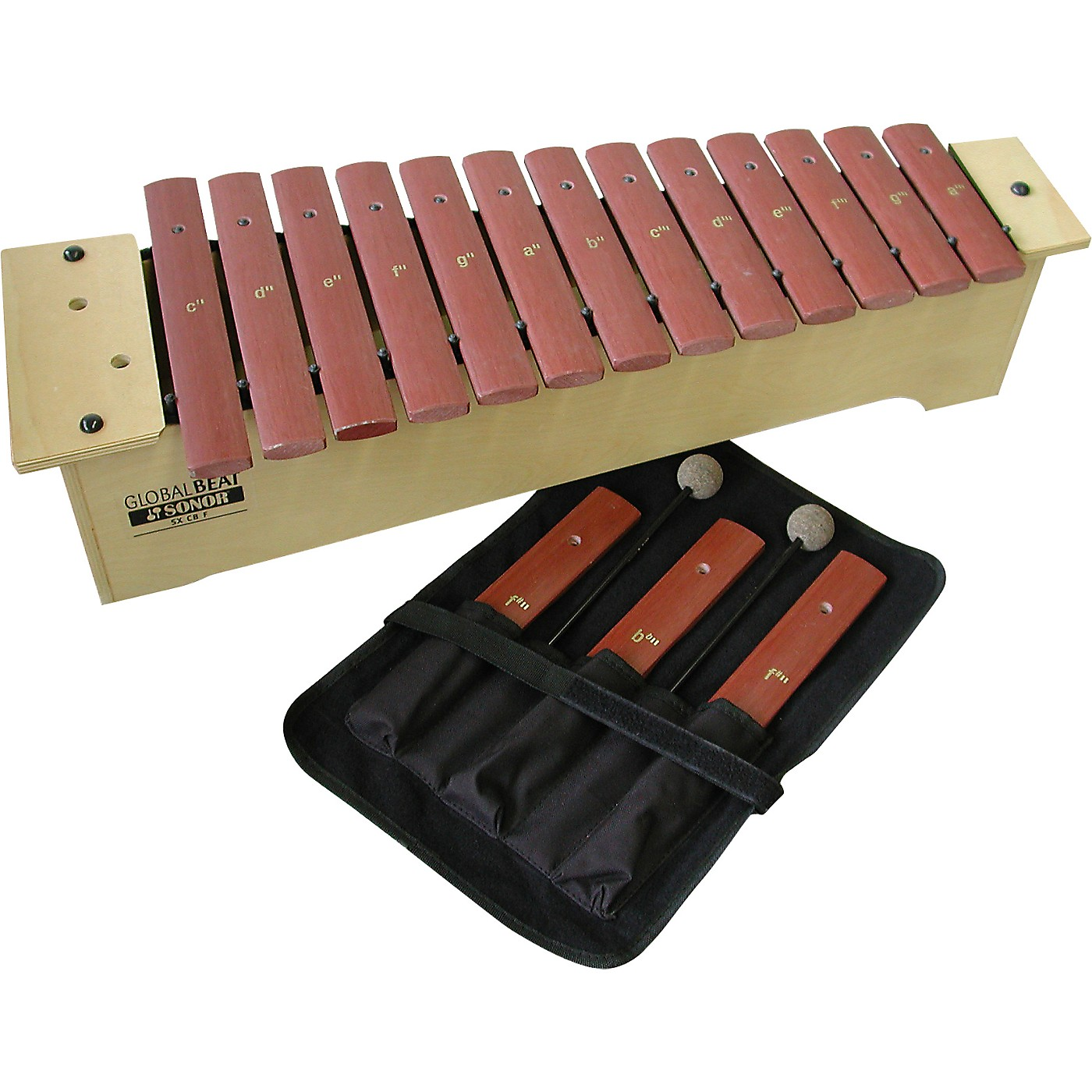 Sonor Orff Global Beat Soprano Xylophone with Fiberglass Bars thumbnail