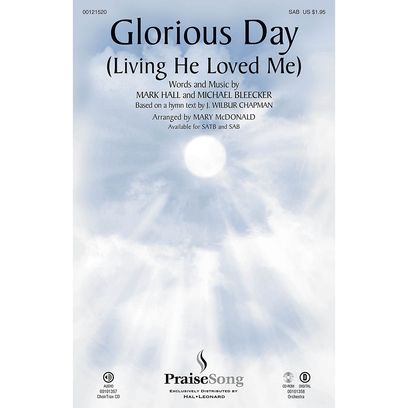 PraiseSong Glorious Day (Living He Loved Me) SAB by Casting Crowns arranged by Mary McDonald thumbnail