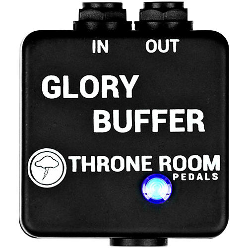 Throne Room Pedals Glory Buffer Guitar Effects Pedal thumbnail