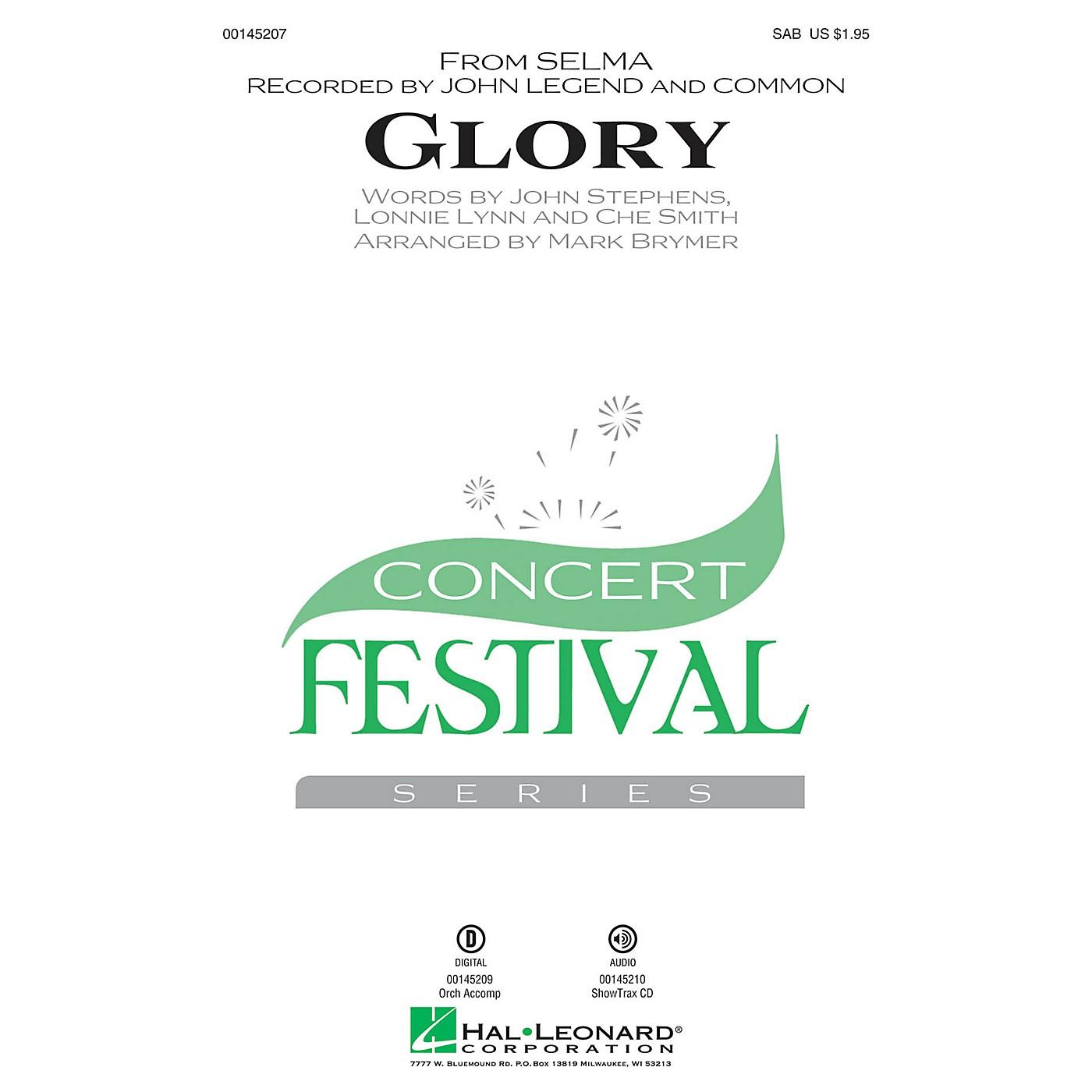Hal Leonard Glory (from Selma) SAB by John Legend arranged by Mark Brymer thumbnail