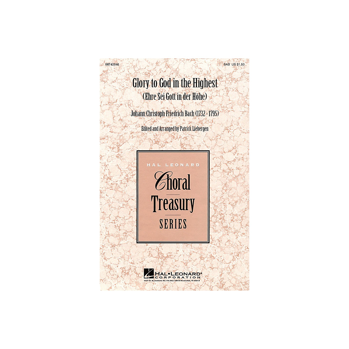 Hal Leonard Glory to God in the Highest (Ehre Sei Gott in der Höhe) SSA Arranged by Patrick Liebergen thumbnail