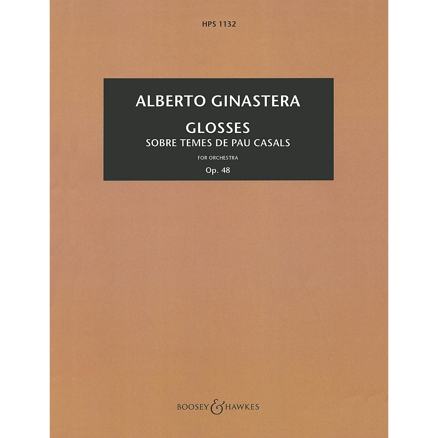 Boosey and Hawkes Glosses, Op. 48 (Study Score) Boosey & Hawkes Scores/Books Series Composed by Alberto E. Ginastera thumbnail
