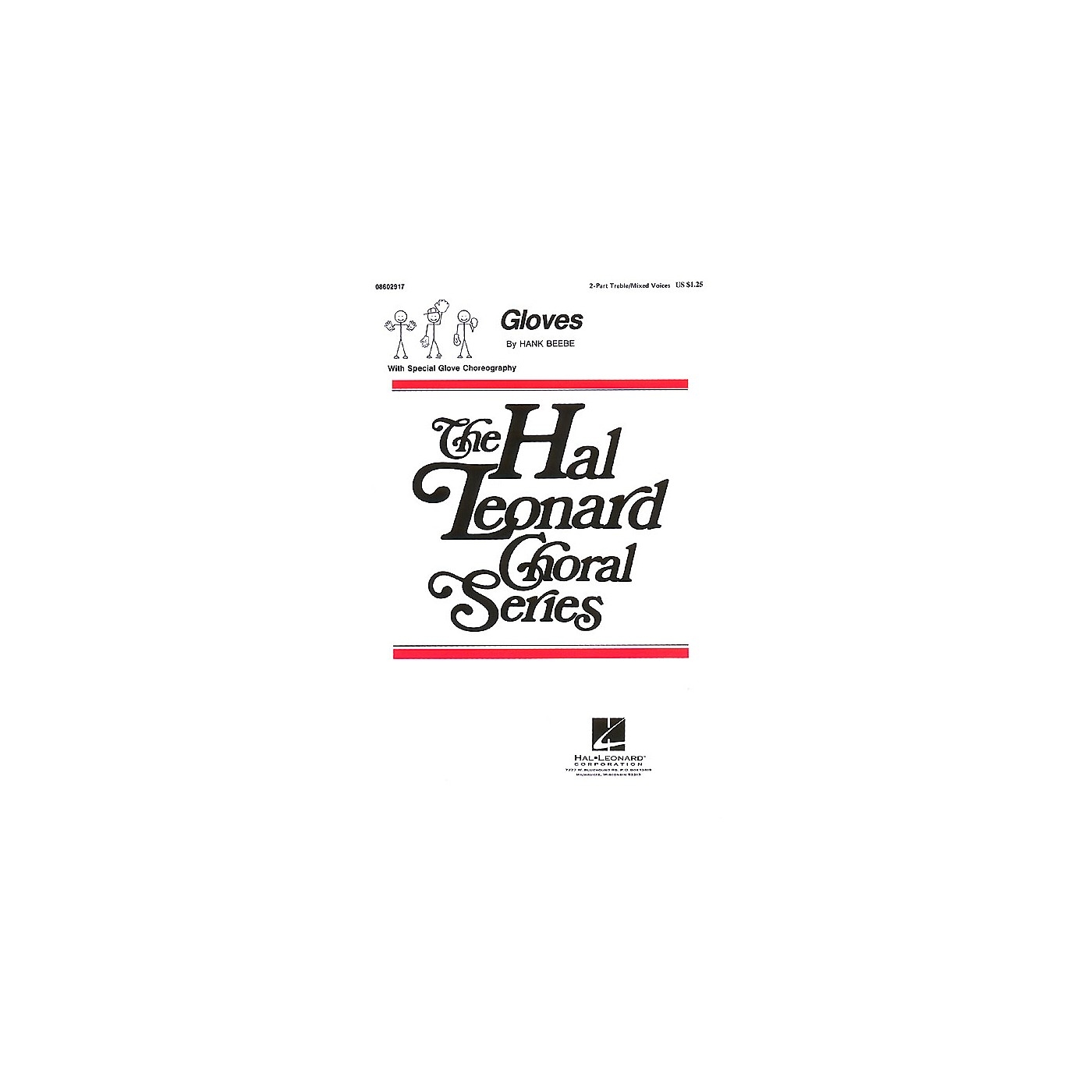 Hal Leonard Gloves 2-Part composed by Hank Beebe thumbnail