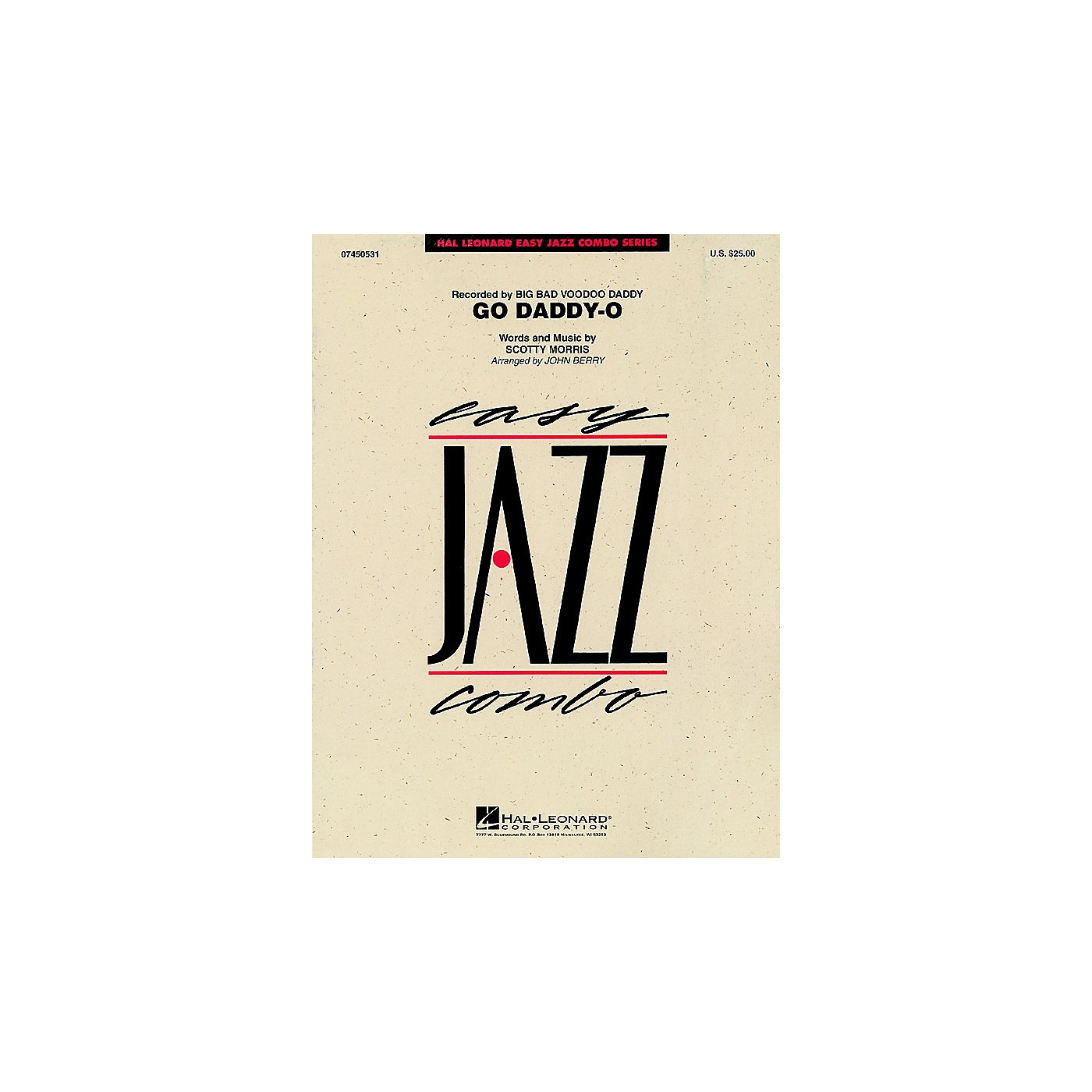 Hal Leonard Go Daddy-O Jazz Band Level 2 by Big Bad Voodoo Daddy Arranged by John Berry thumbnail