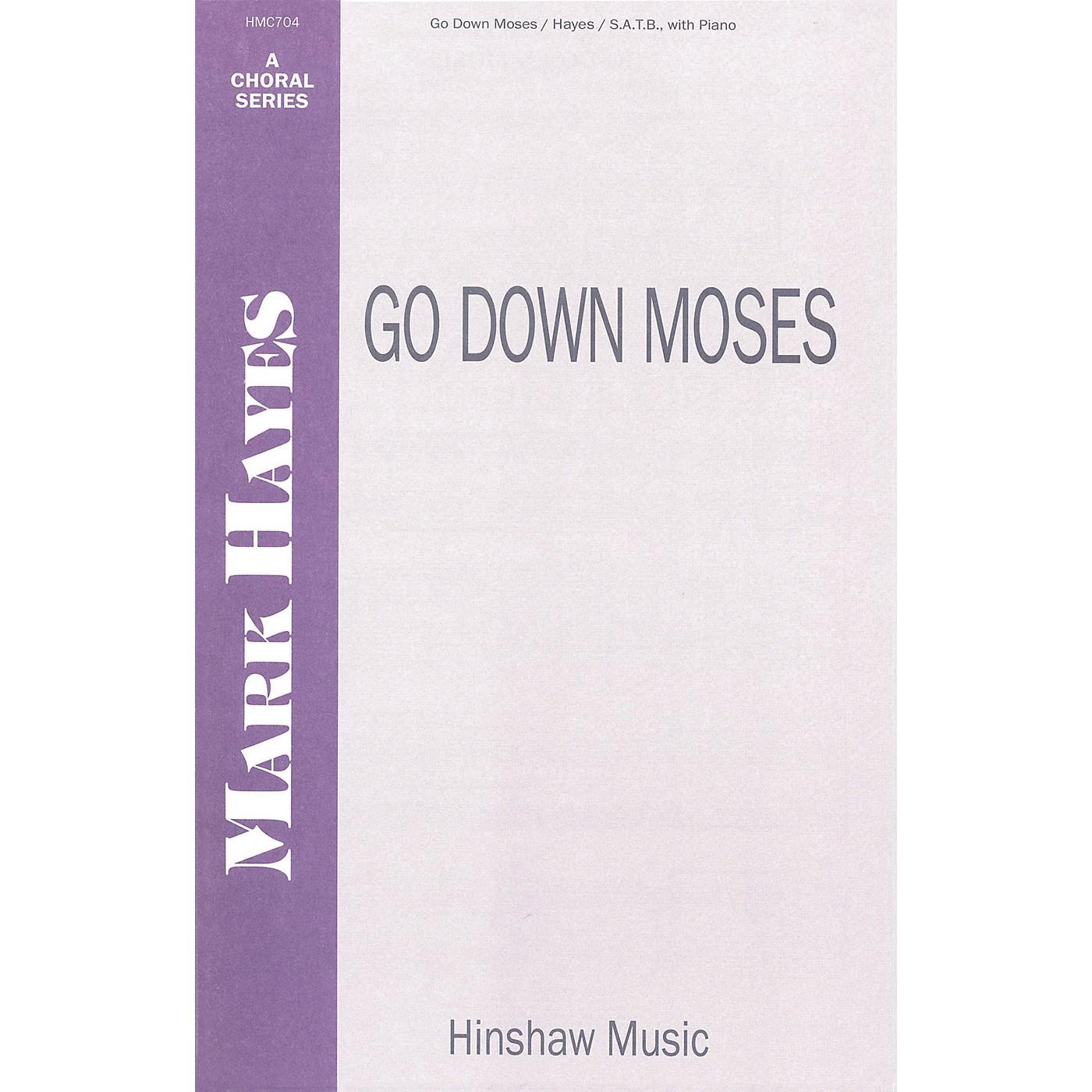 Hinshaw Music Go Down Moses SATB composed by Mark Hayes thumbnail