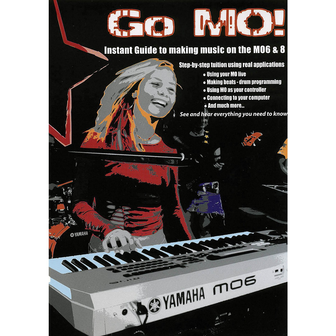 Keyfax Go MO (Introduction to the Yamaha MO Series) DVD Series DVD Written by Various thumbnail