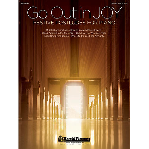Shawnee Press Go Out in Joy - Festive Postludes for Piano thumbnail