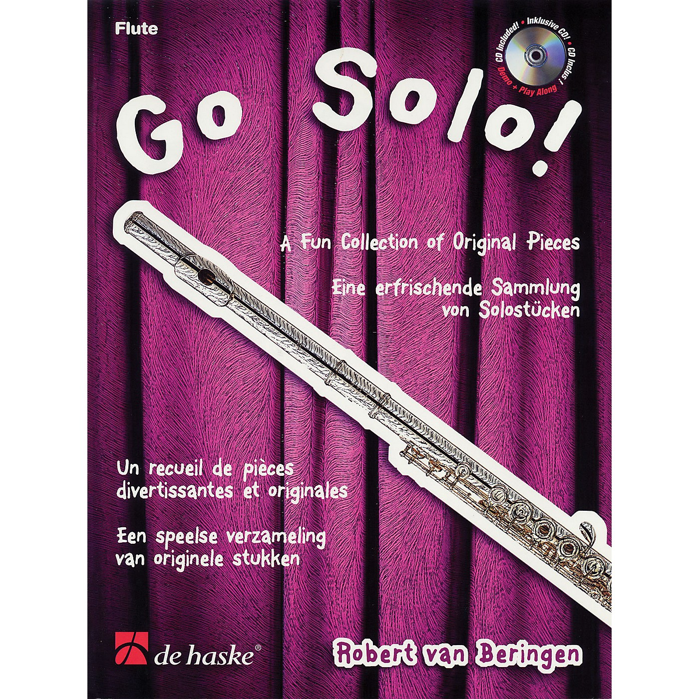 De Haske Music Go Solo (A Fun Collection of Original Pieces) De Haske Play-Along Book Series by Robert van Beringen thumbnail