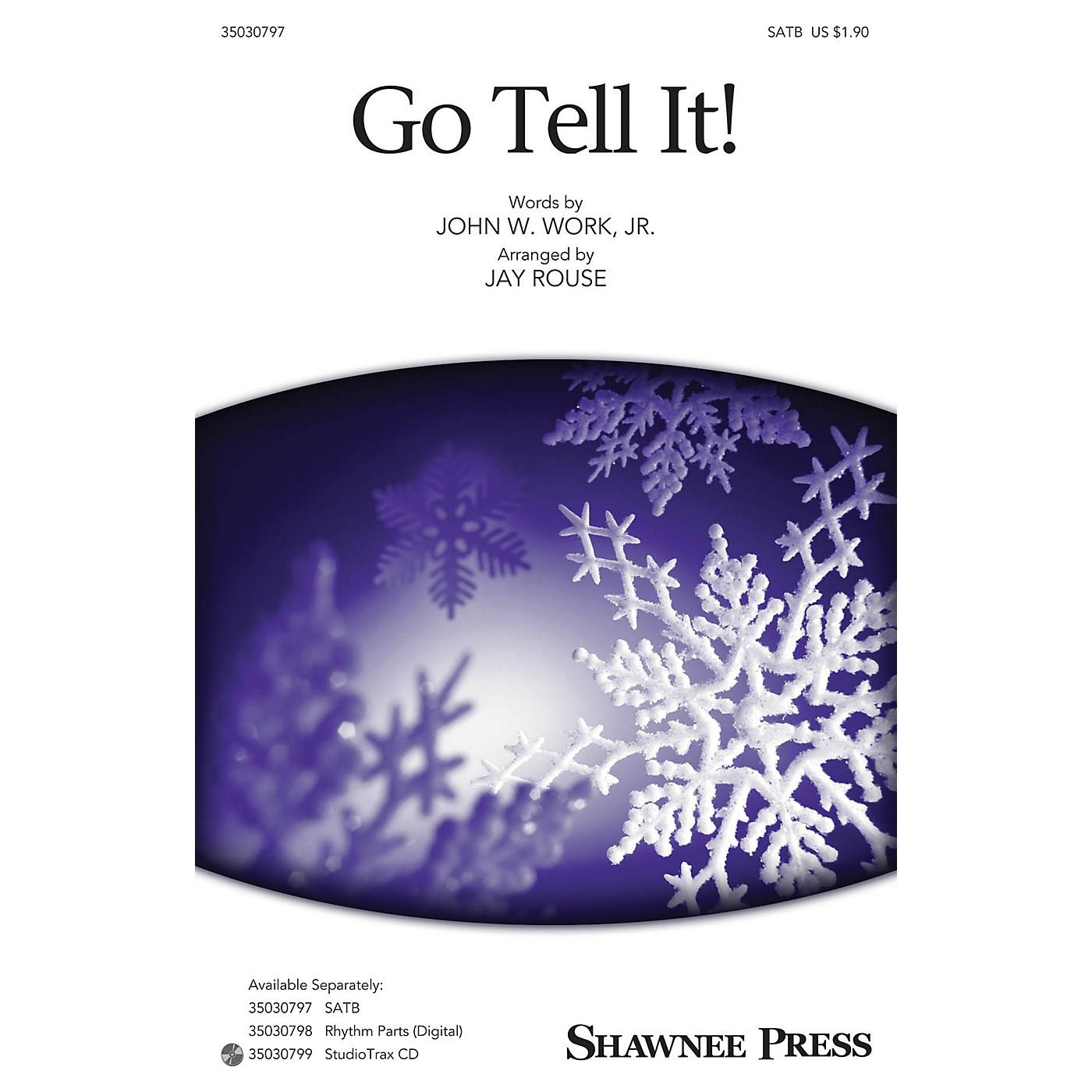 Shawnee Press Go Tell It! SATB arranged by Jay Rouse thumbnail