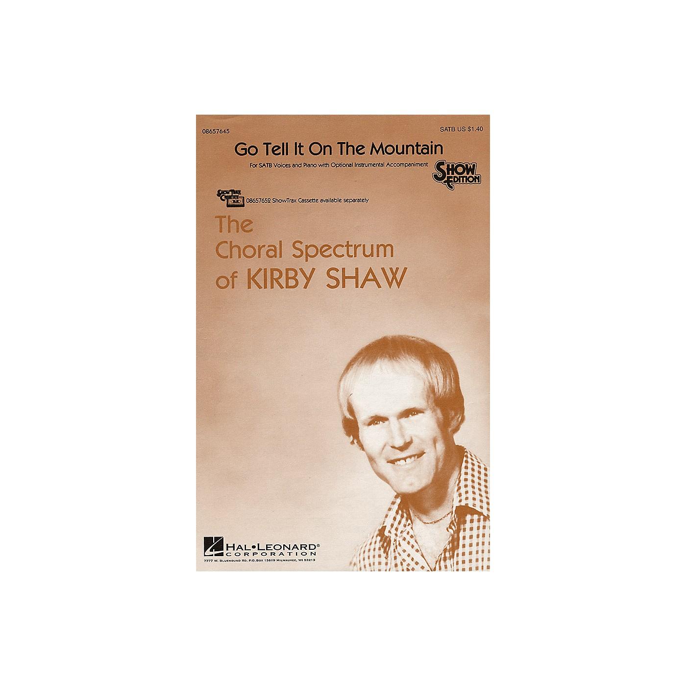 Hal Leonard Go Tell It on the Mountain SATB arranged by Kirby Shaw thumbnail