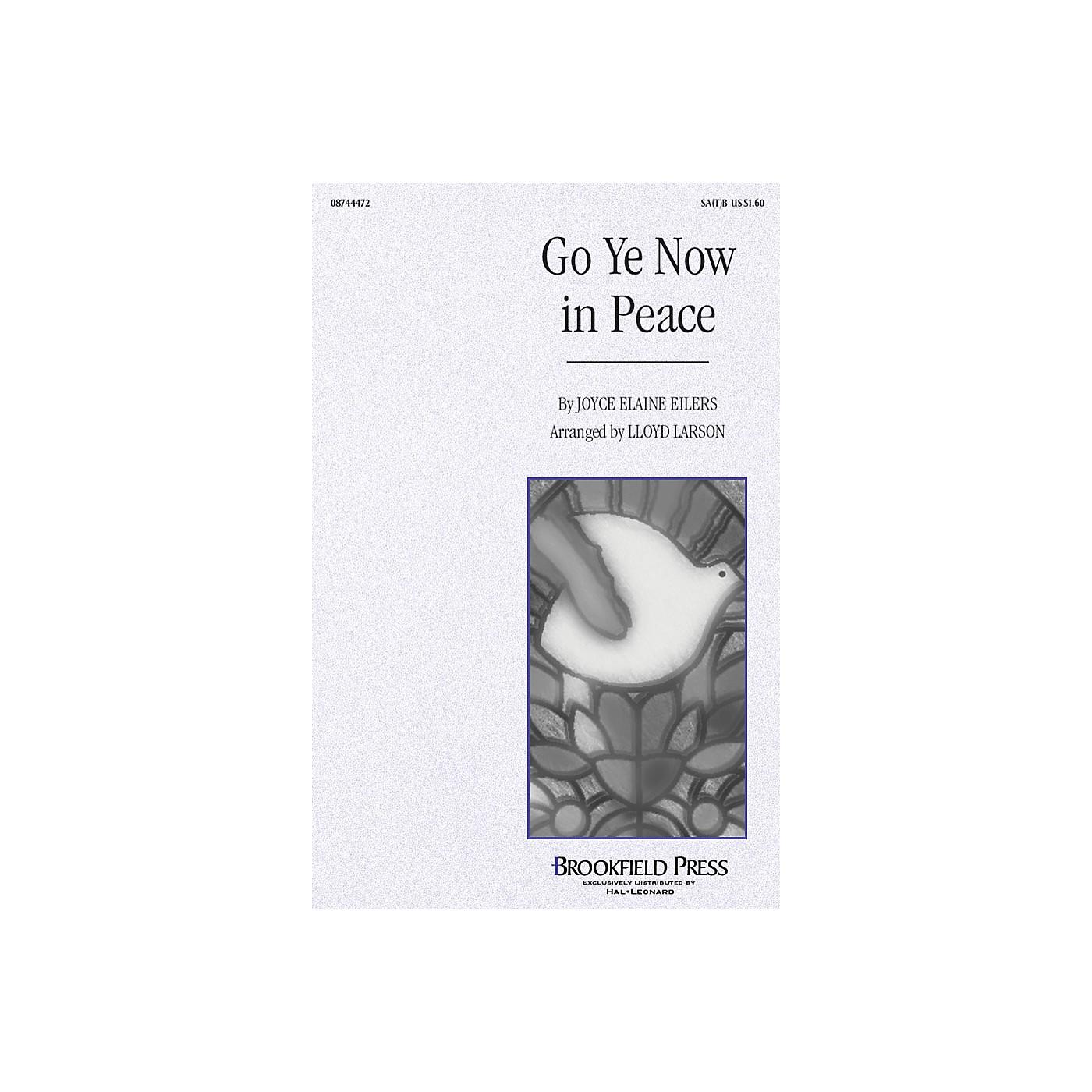 Brookfield Go Ye Now in Peace SA(T)B arranged by Lloyd Larson thumbnail