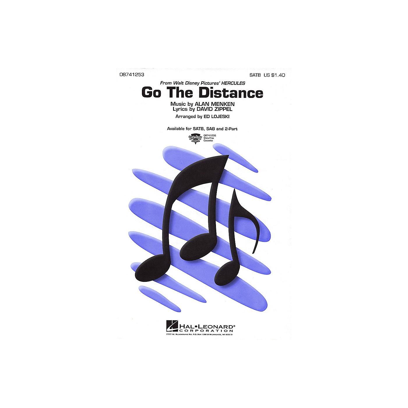 Hal Leonard Go the Distance SAB Arranged by Ed Lojeski thumbnail