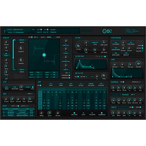 Rob Papen Go2 Virtual Synthesizer thumbnail