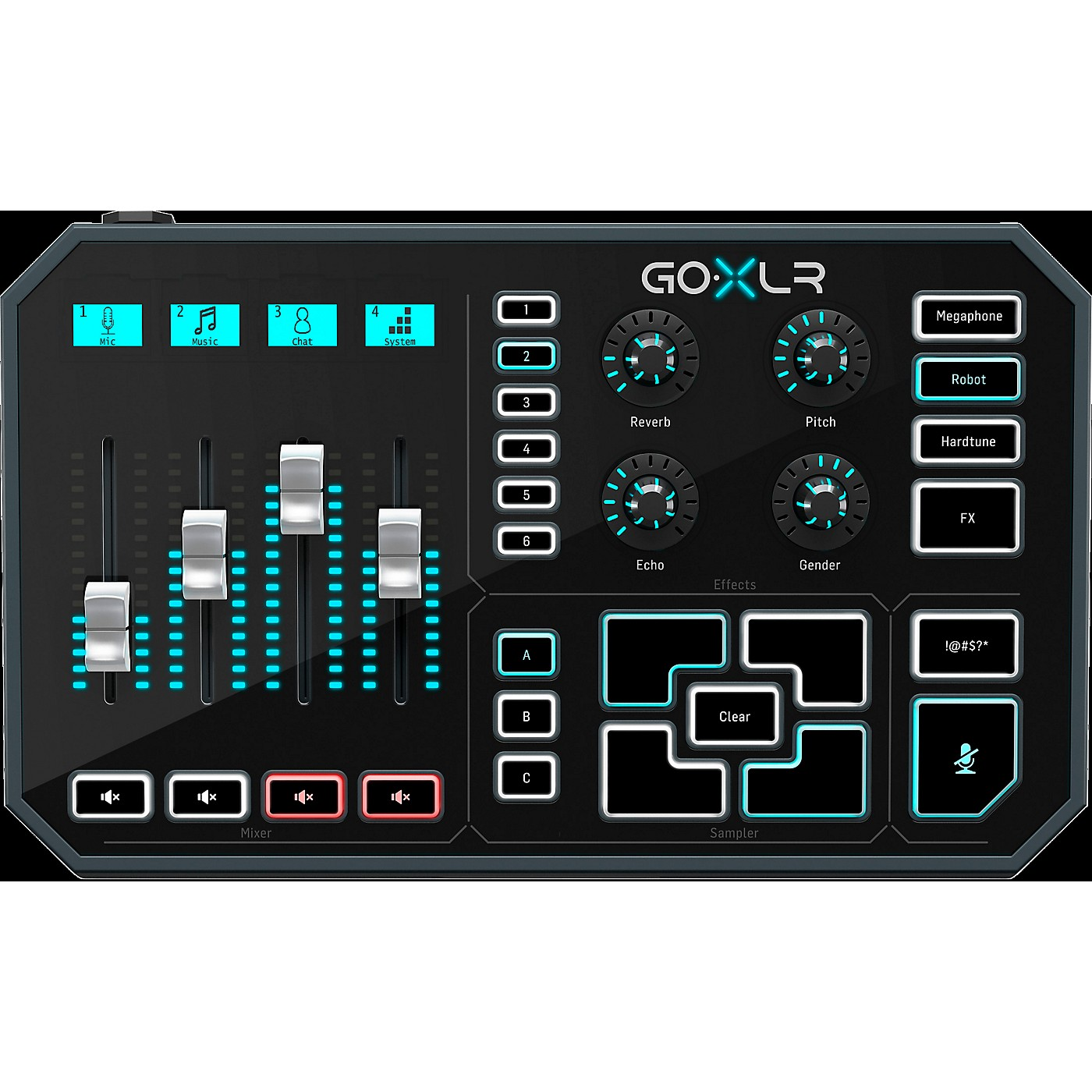 TC Helicon GoXLR - Mixer, Sampler, & Voice FX for Streamers thumbnail