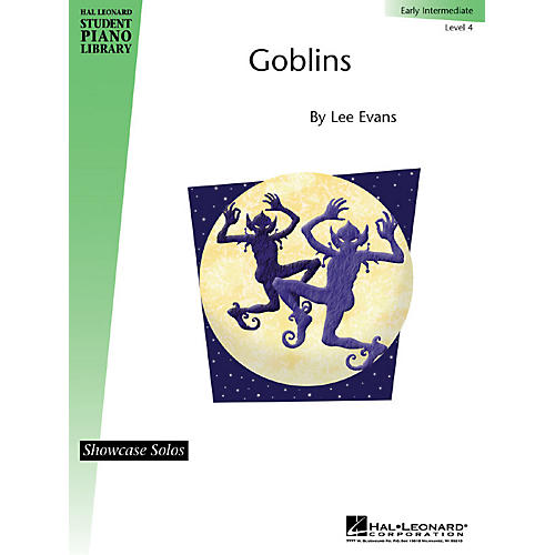 Hal Leonard Goblins Piano Library Series by Lee Evans (Level Early Inter) thumbnail