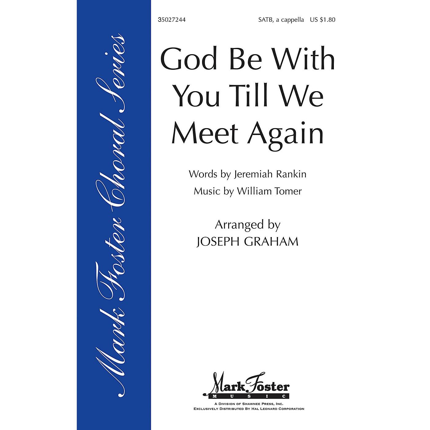 Shawnee Press God Be with You 'Til We Meet Again SATB arranged by Joseph Graham thumbnail