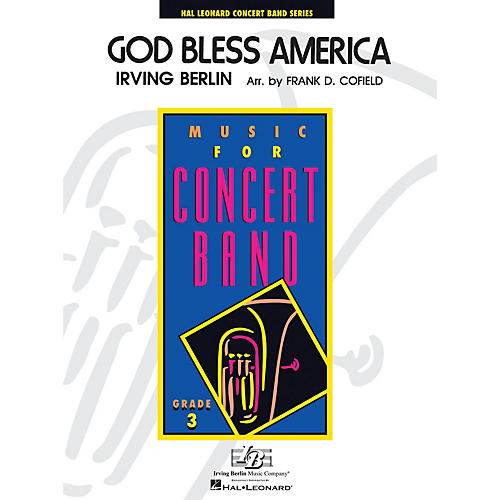Hal Leonard God Bless America - Young Concert Band Level 3 arranged by Frank Cofield thumbnail