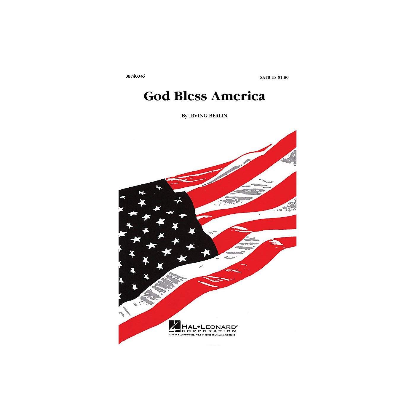 Hal Leonard God Bless America 2-Part Arranged by Keith Christopher thumbnail