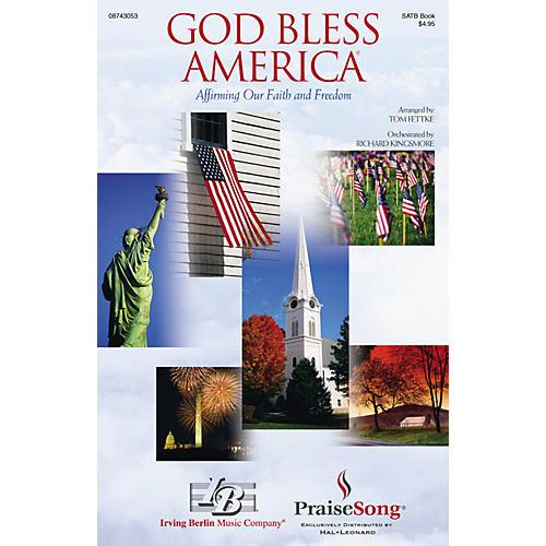 PraiseSong God Bless America® (Affirming Our Faith and Freedom) CD 10-PAK Arranged by Tom Fettke thumbnail