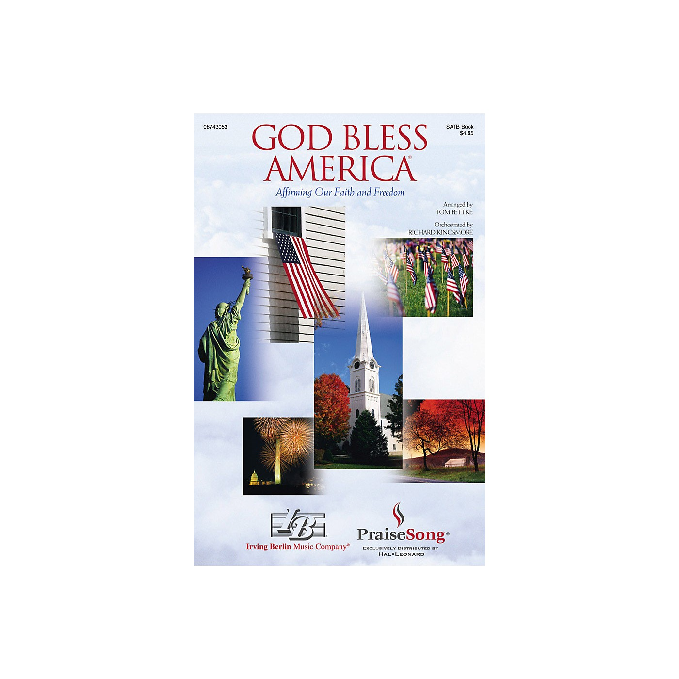 Hal Leonard God Bless America® (Affirming Our Faith and Freedom) Preview Pak Arranged by Tom Fettke thumbnail