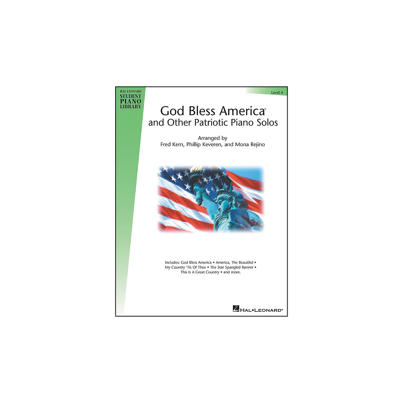 Hal Leonard God Bless America And Other Patriotic Piano Solos Level 4 Hal Leonard Student Piano Library thumbnail
