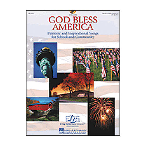 Hal Leonard God Bless America-Patriotic and Inspirational Songs for School and Community Book/CD thumbnail