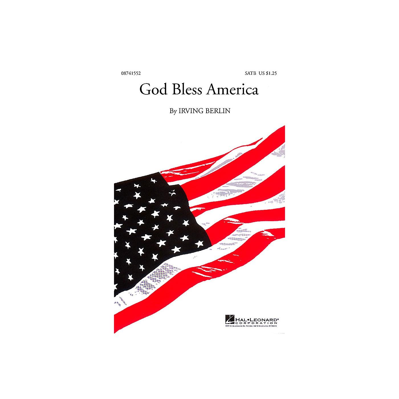 Hal Leonard God Bless America® SATB arranged by Kirby Shaw thumbnail