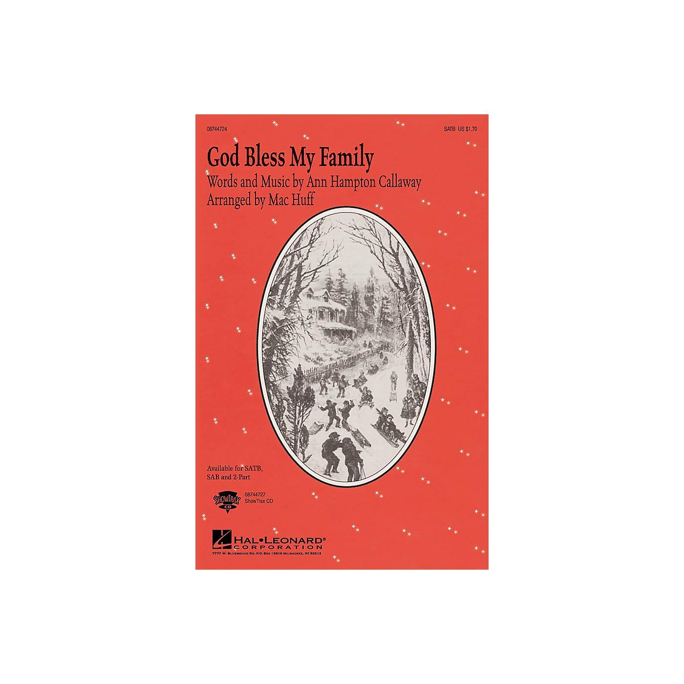 Hal Leonard God, Bless My Family 2-Part Arranged by Mac Huff thumbnail