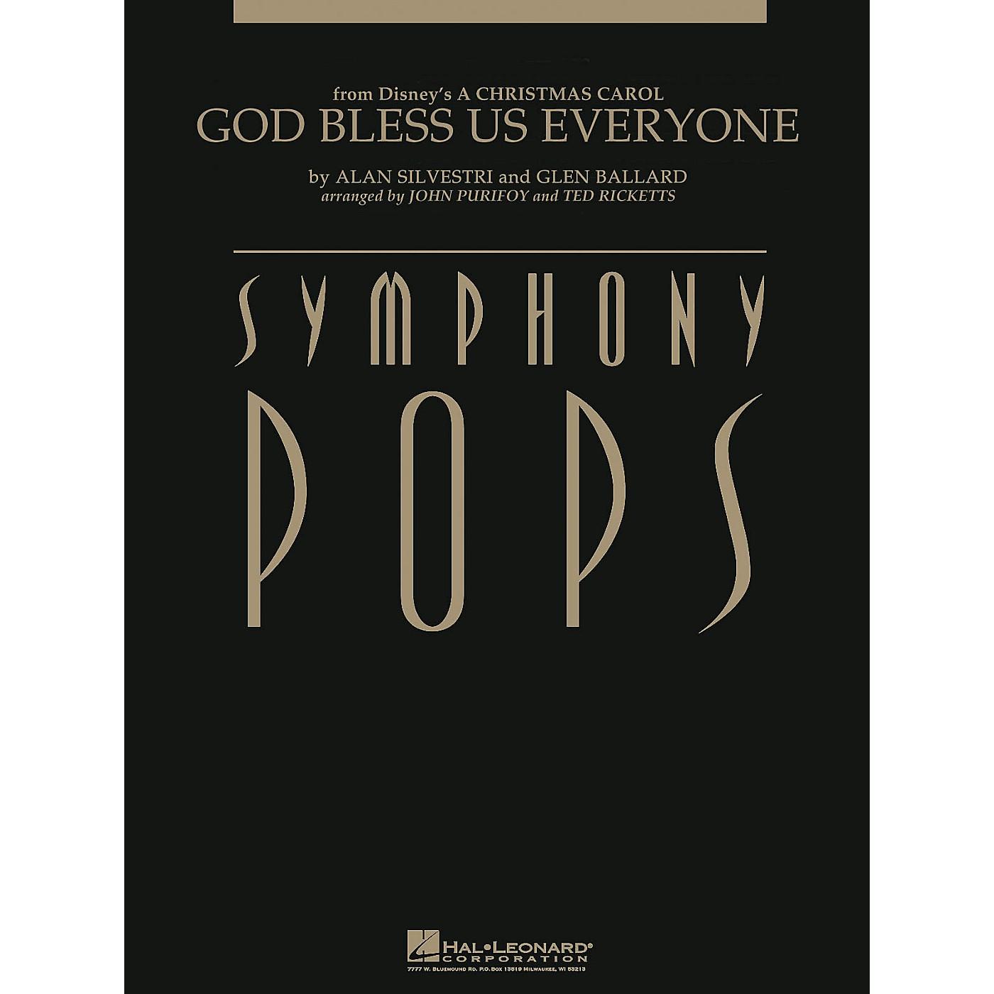 Hal Leonard God Bless Us Everyone (from A Christmas Carol) Symphony Pops Series  by Alan Silvestri thumbnail