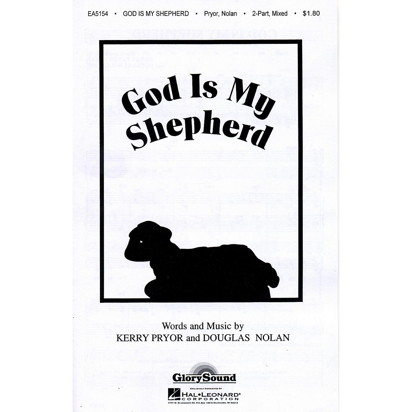 Hal Leonard God Is My Shepherd 2-Part Mixed thumbnail