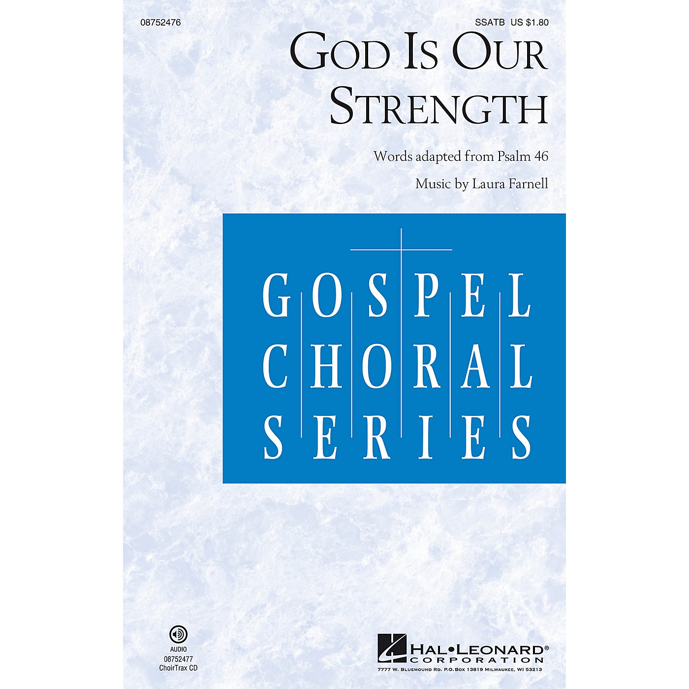 Hal Leonard God Is Our Strength SSATB composed by Laura Farnell thumbnail