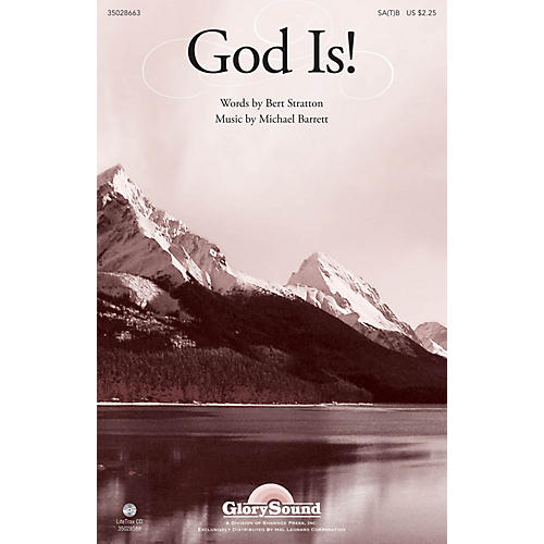 Shawnee Press God Is! SA(T)B composed by Michael Barrett thumbnail