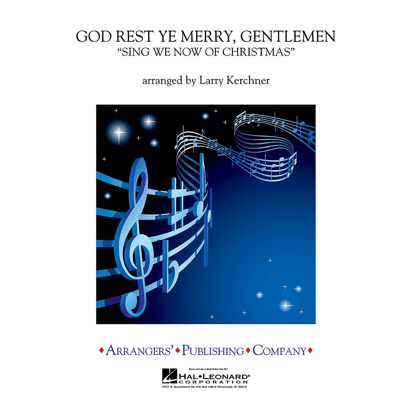 Arrangers God Rest Ye Merry, Gentlemen Concert Band Level 3 Arranged by Larry Kerchner thumbnail
